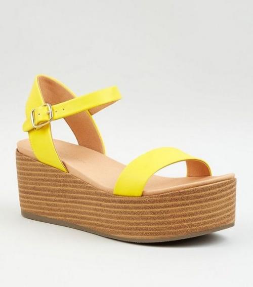 New Look - Sandales à plateforme