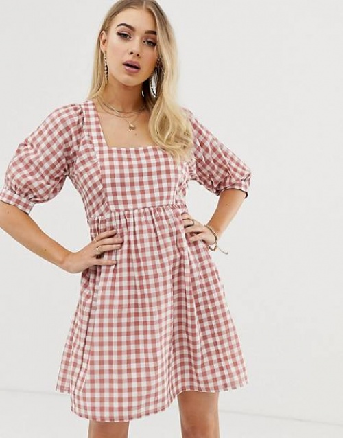 ASOS DESIGN - Robe à carreaux
