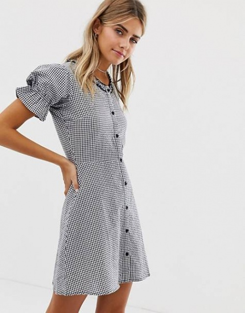 Wednesday's Girl - Robe à carreaux