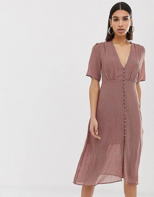 Missguided - Robe à carreaux