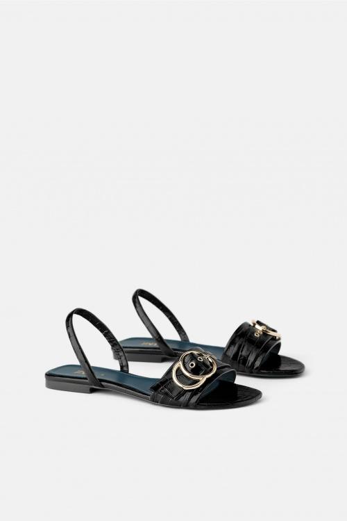 Zara - Sandales en cuir