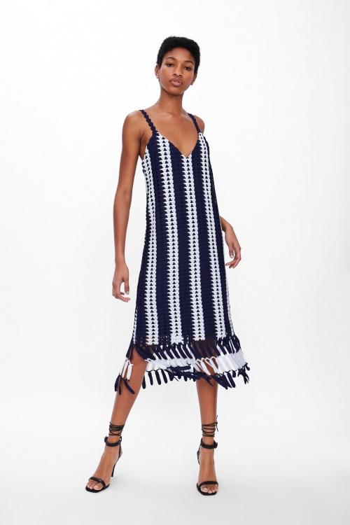 Zara - Robe en crochet