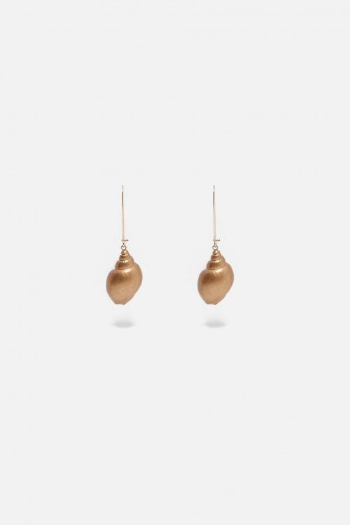 Zara - Boucles d'oreilles coquillage