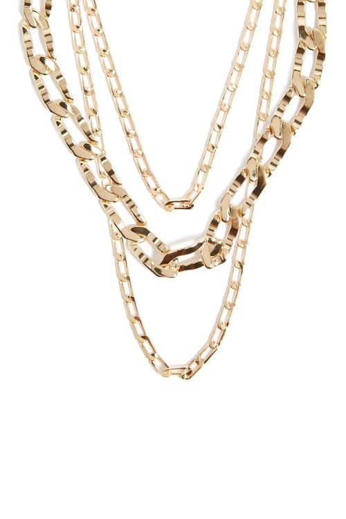 Lot de collier en chaîne