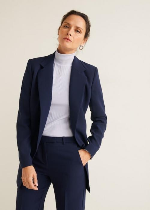Veste de costume structurée