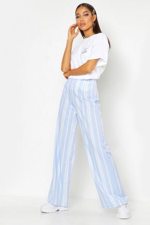 Boohoo - Pantalon bleu