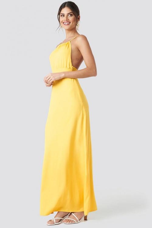 NA - KD - Robe jaune