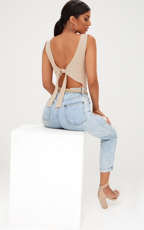 PrettyLittleThing - Top dos ouvert