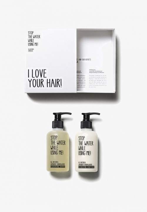 Stop The Water While U Using Me ! - Set pour les cheveux