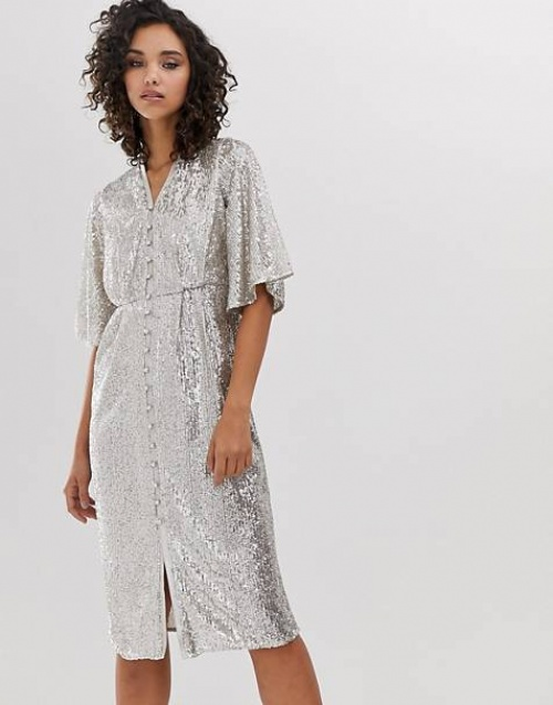 River Island - Robe à sequins