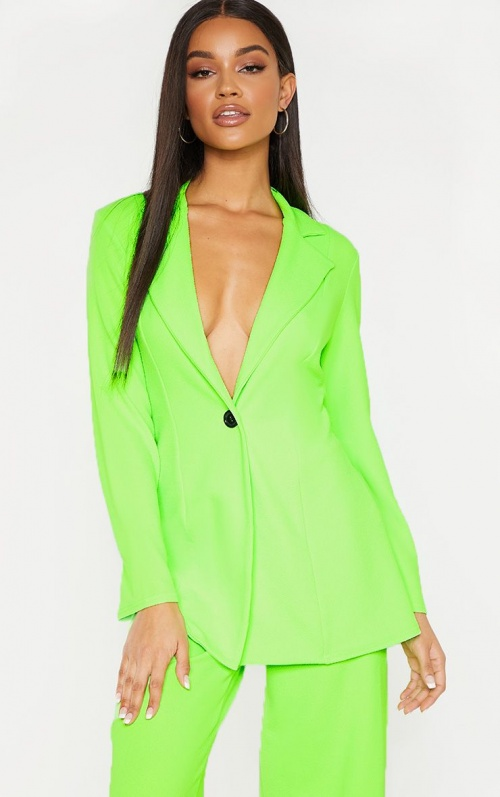 Pretty Little Thing - Blazer fluo