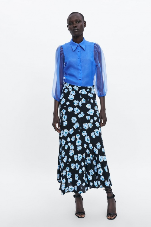 Zara - Blouse en organza
