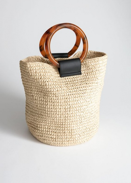 & OTHER STORIES - Sac en paille