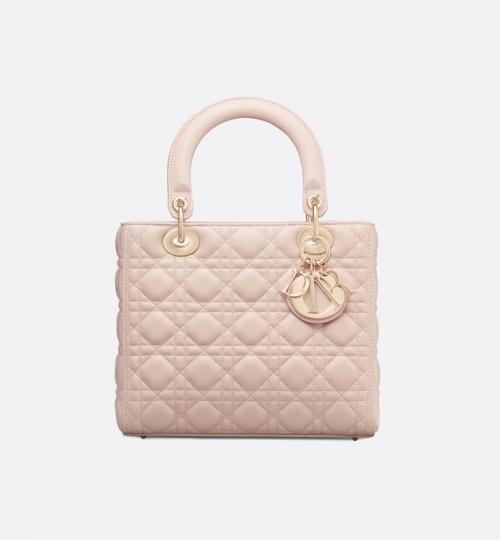 Dior - Sac à main Lady beige