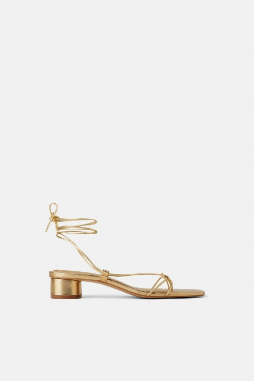 Zara - Sandales à nouer