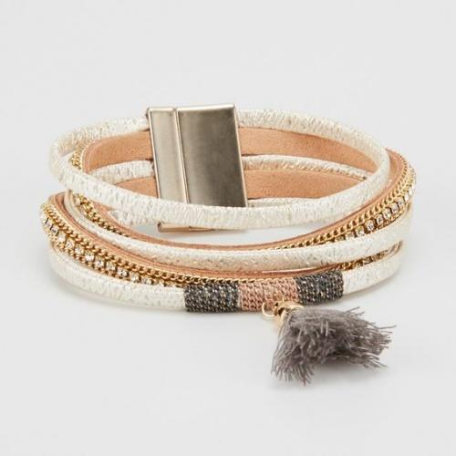 MOA - Bracelet pompom