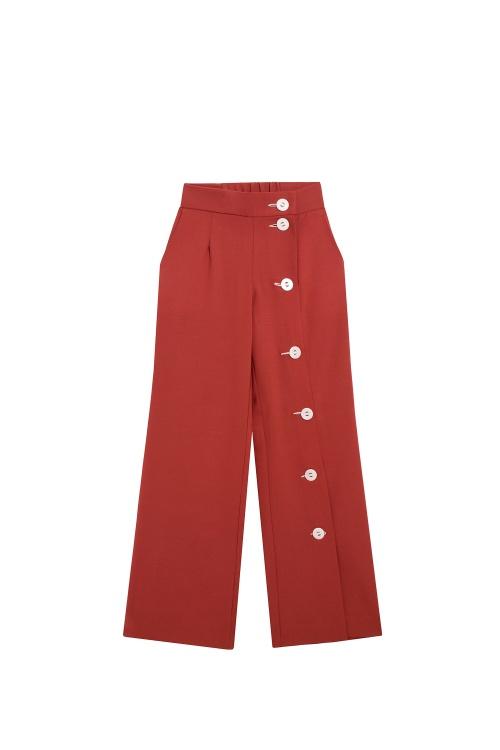 Salut Beauté - Pantalon à boutons