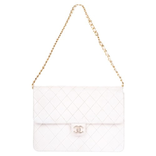 Chanel - Sac blanc