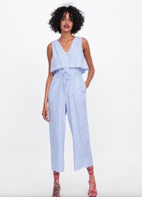 Zara - Combinaison à rayures