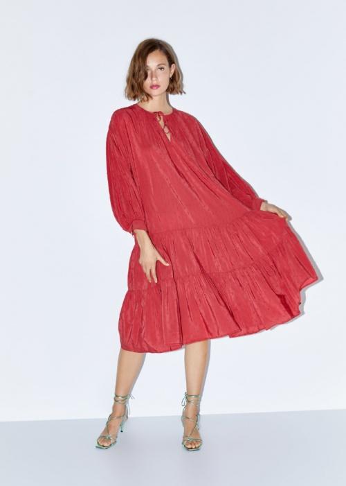 Zara - Robe à volants