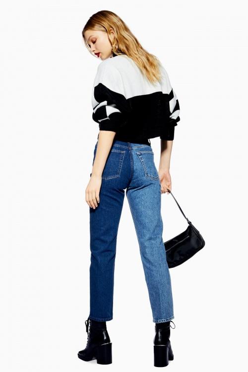 Topshop - Jean bicolore