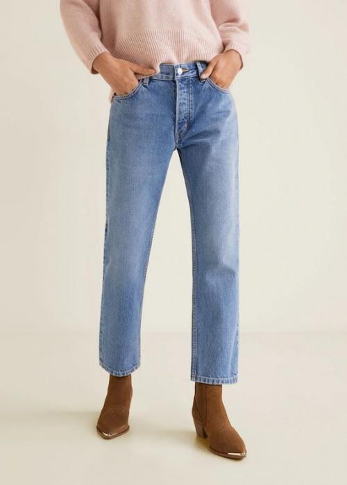 Mango - Jeans en coton organique