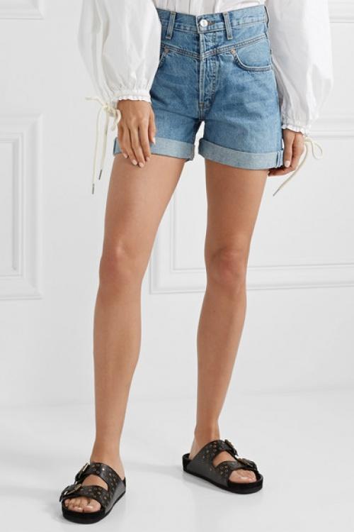 RE/DONE - Short en jean 90s