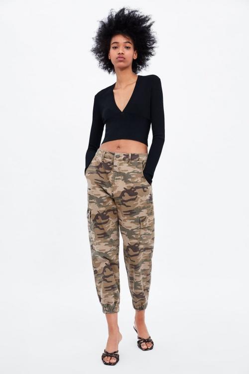 Zara - Pantalon baggy