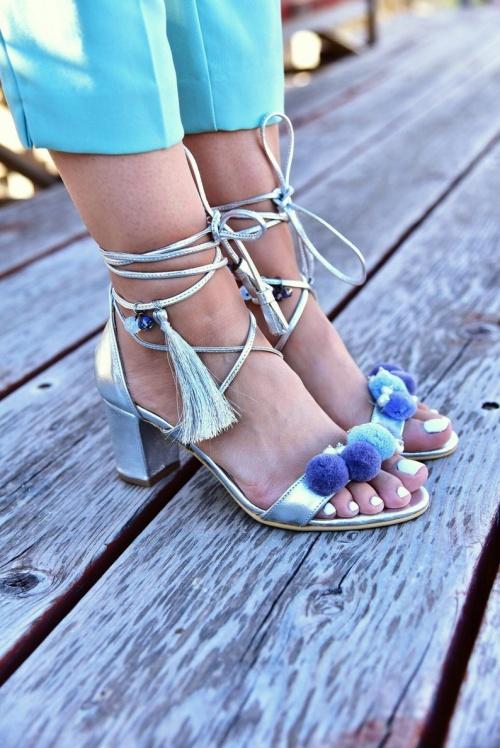 Pinky Promise - Sandales à talons