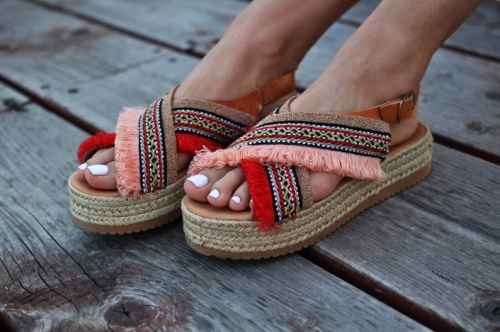 Pinly Promise - Sandales à platforme