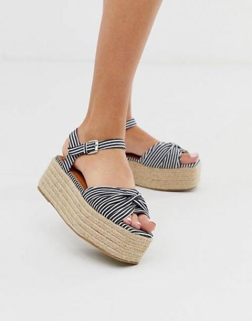 Boohoo - Sandales style espadrilles