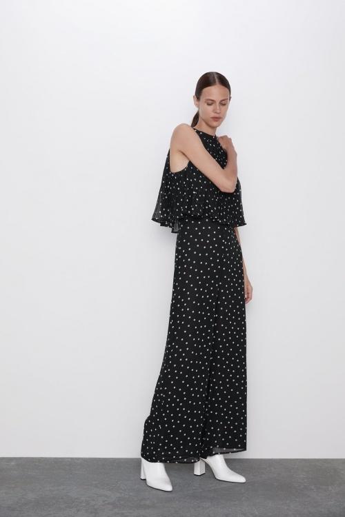 Zara - Combinaison à pois