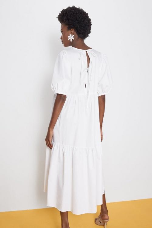 Zara - Robe dos ouvert