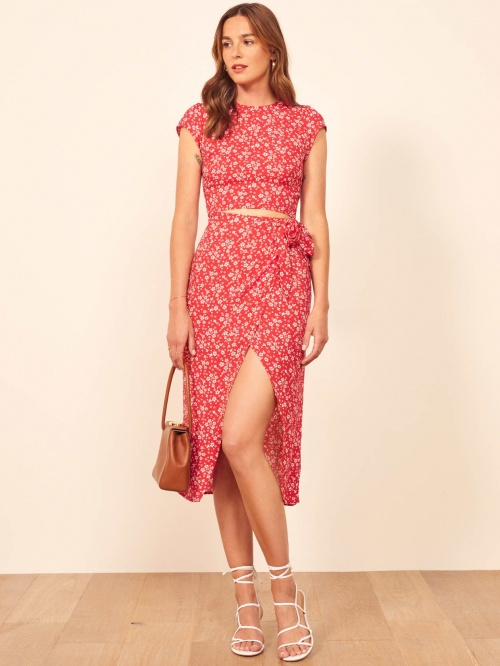 Reformation - Robe dos ouvert