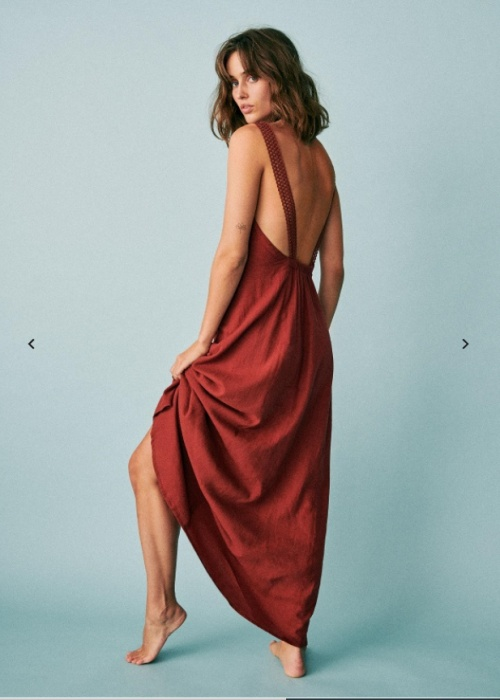 Sézane - Robe longue