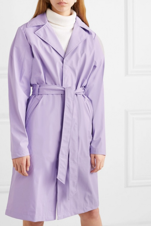 Rains - Trench coat en PU