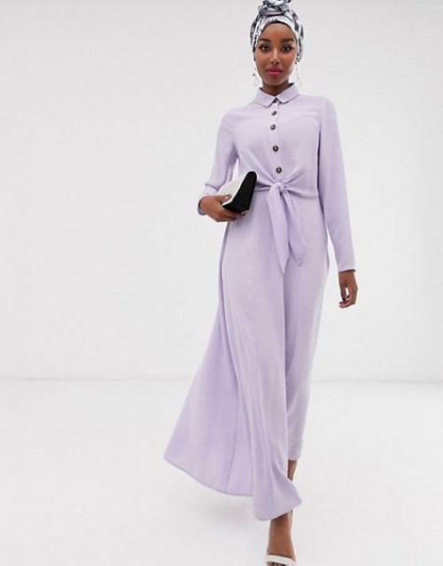 ASOS DESIGN - Robe chemise