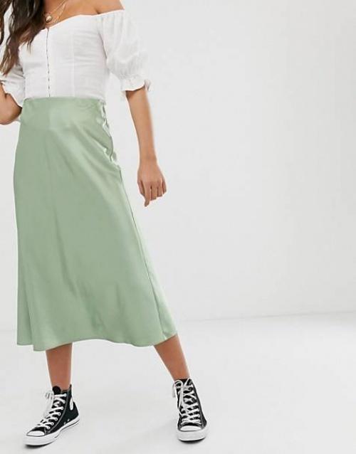New Look - Jupe satinée