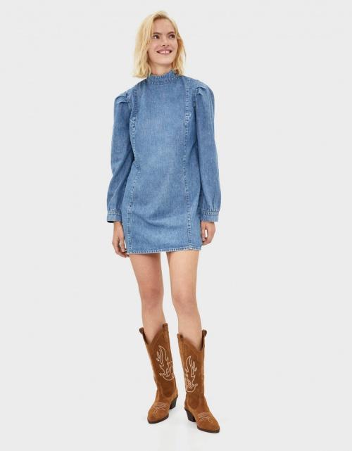 Bershka - Robe en jean
