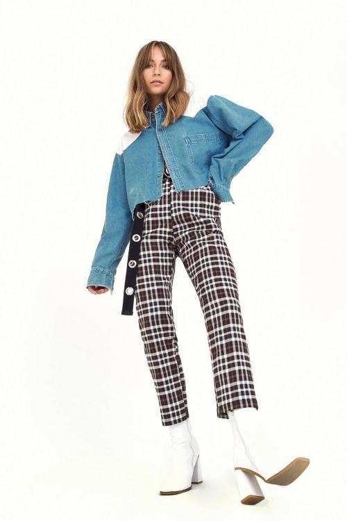 Nasty Gal - Pantalon à carreaux