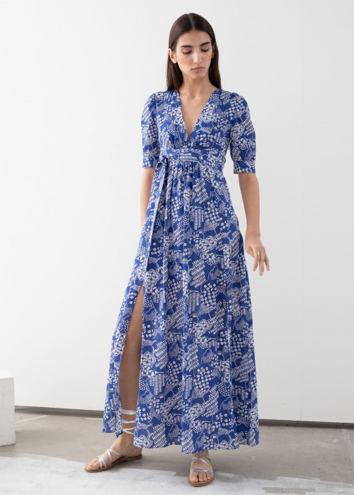 & Other Stories - Robe longue