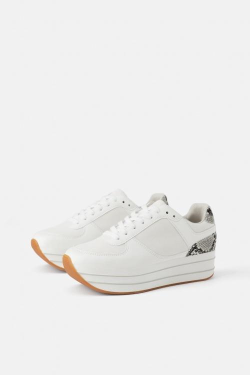 Zara - Baskets à plateforme