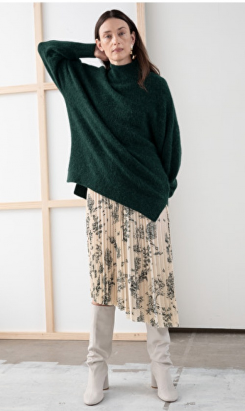 &Other Stories - Pull oversize vert