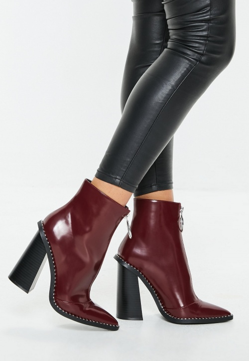 Missguided - Bottines détails cloutés