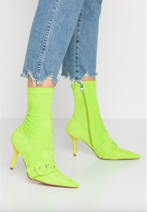 Olbia - Bottines fluo