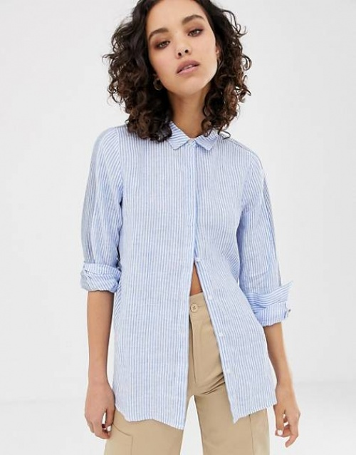 Only - Chemise à rayures