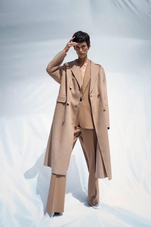 Zara - Manteau à boutons