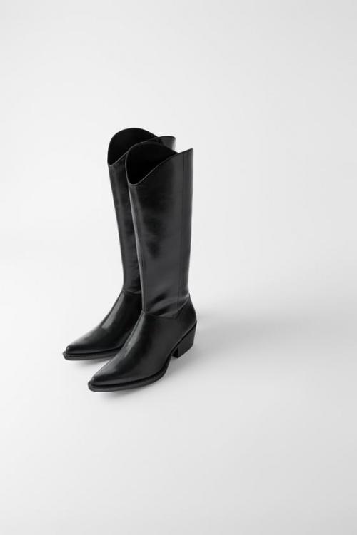 Zara - Bottes de cowboy