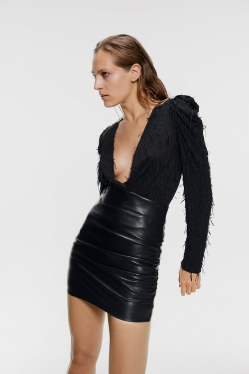 Zara - Body à franges