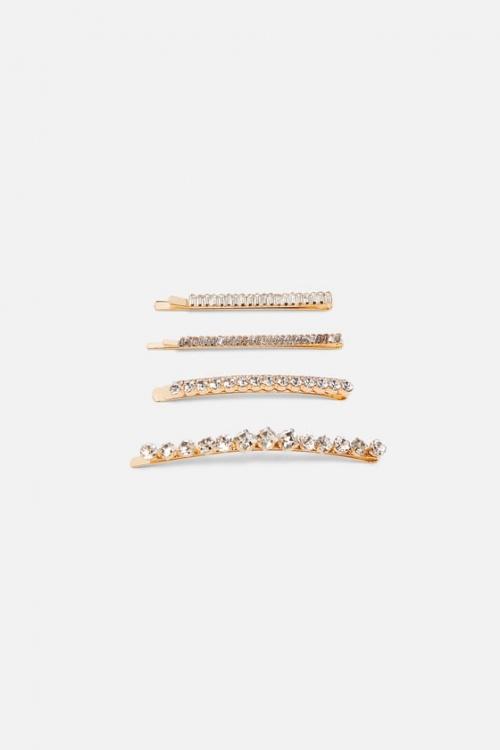 Zara - Lot de pinces brillantes